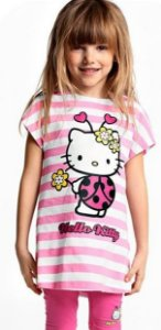 Conjunto Infantil Hello Kitty