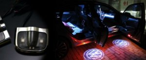 Projetor Led Marca Porta do Carro