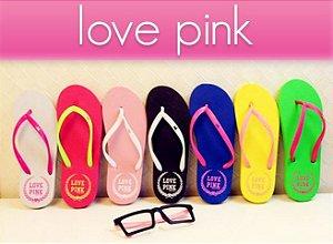 Chinelos Love Pink