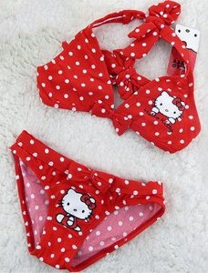 Biquíni Infantil Hello Kitty