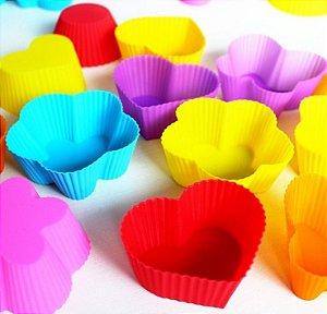 Formas Cupcake Diversas 32 unid.