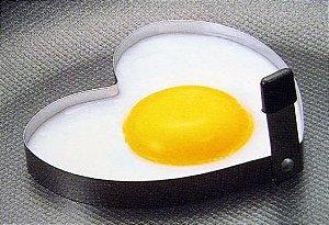 Forma Ovos Fritos Coração