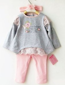Conjunto Infantil Sweet Little Girl