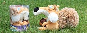 Boneco Esquilo Scrat Era do Gelo