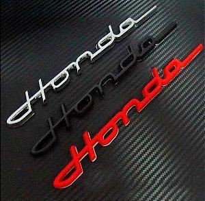 Adesivo Honda 3D
