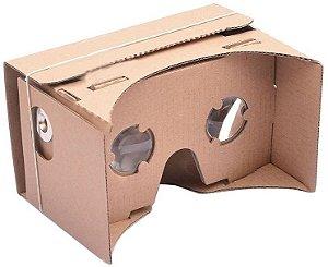 Óculos De Realidade Virtual Papelão Google Cardboard
