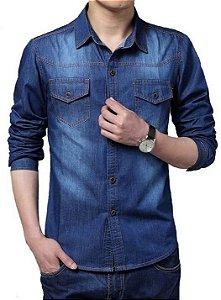 Camisa Jeans Deep