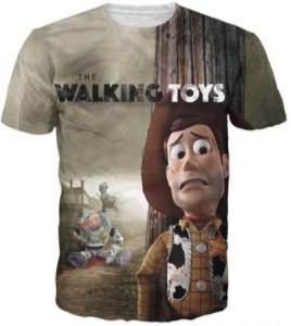 Camiseta The Walking Toys