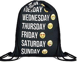 Sacola Mochila Emoji