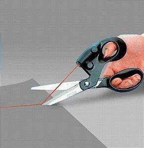 Tesoura Com Mira a Laser