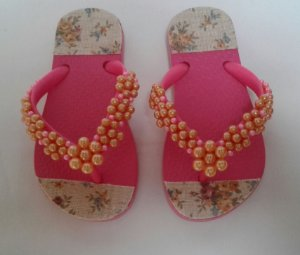 CHINELO INFANTIL DECORADO
