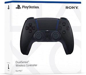 Controle sem fio DualSense Midnight Black Sony - PS5