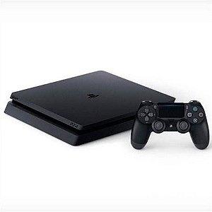 PS4 slim 500GB - Semi novo