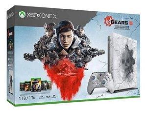 Xbox One X Edição Gears Of War - Semi Novo