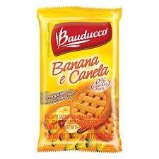 Biscoito Sachê Bauducco Banana com Canela 400 sachês.