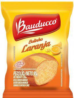 Bolinho Laranja Bauducco 112X30 grs