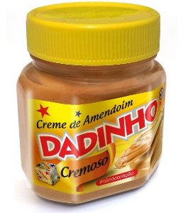 Creme de Amendoim Dadinho 180grs