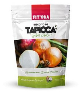 BISC TAPIOCA SABOR CEBOLA 50 GRS