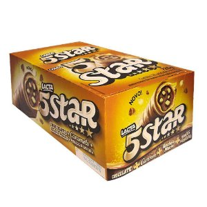 Chocolate 5 Star 40g C/18 - Lacta