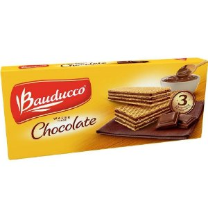 Biscoito Wafer Chocolate Bauducco 140g