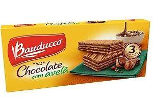 Wafer de Chocolate com Avelã Bauducco 140g