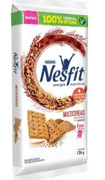 Biscoito Nesfit Multicereais de Bolso 6X21grs.