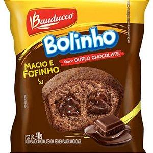 Bolinho Duplo Chocolate Bauducco 112x40g
