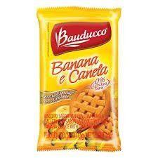 Biscoito Sachê Bauducco Banana com Canela 180 sachês.