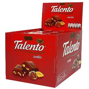 Chocolate Talento Avelãs 12x90g
