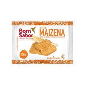 Biscoito Maizena Bom Sabor 180 sachês.