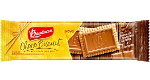 Biscoito Choco Biscuit Ao Leite Bauducco 80 grs