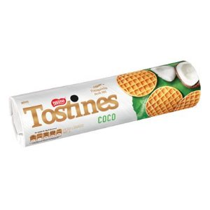 Biscoito Coco Tostines 160 grs.
