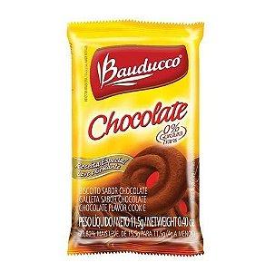 Biscoito Sachê Bauducco Amanteigado Chocolate 400 sachês.
