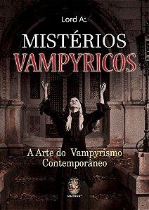 Livro Misterios Vampyricos:A Arte do Vampyrismo Contemporâneo