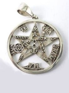 Pentagrama Esotérico, Estrela Flamígera, Tetragrammaton de Levi