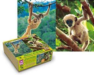 Quebra-Cabeça macaco muriqui- 15 peças gigantes