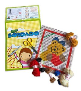 Kit bordado urso
