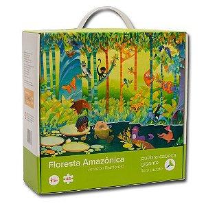 Quebra-Cabeça Gigante 48 Peças Floresta Amazônica
