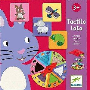 Jogo de Loto Tátil - Animais - Djeco