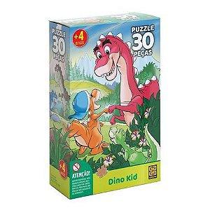 Quebra-Cabeça 30 peças Dino Kid