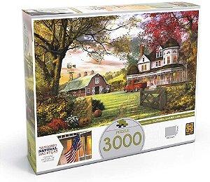 Quebra-cabeça 3000 Peças Fazenda Americana