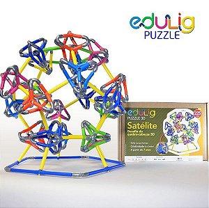 Edulig Puzzle 3D Satélite 225 peças