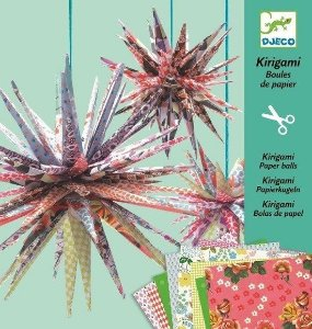 Kirigami Djeco - Estrelas de Papel