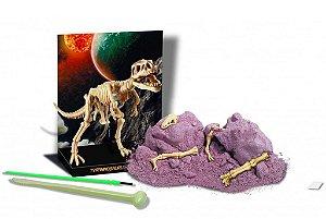Kit De Escavação De Esqueleto Tiranossauro Rex