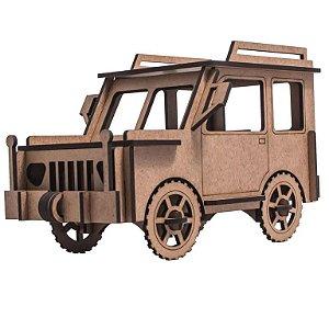 Quebra-Cabeça 3D jeep 39 Peças