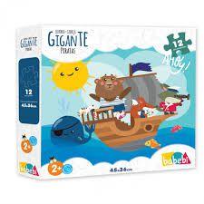 Quebra-cabeças Gigante Piratas