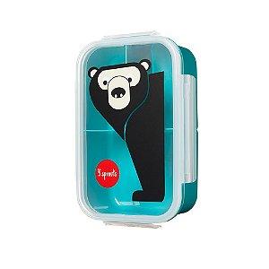 Pote para Lanche Bento Box Urso - 3 Sprouts