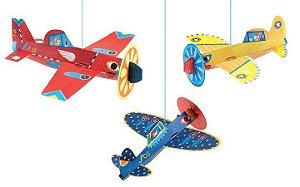 Aviões para Pendurar Djeco