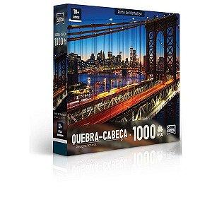 Quebra-Cabeça 1000 Peças Ponte De Manhattan