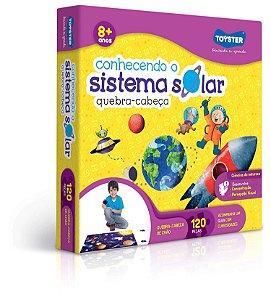 Quebra-Cabeça 120 Peças Conhecendo o Sistema Solar